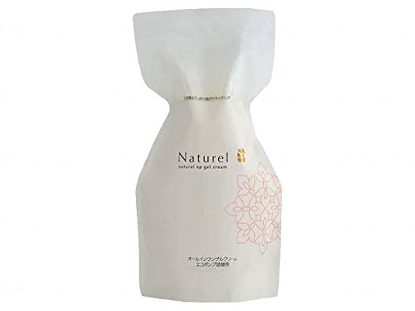 効果数字受け皿日本健康美容開発 ナチュレルSP ゲルクリーム PLUS エコ詰替え 550g