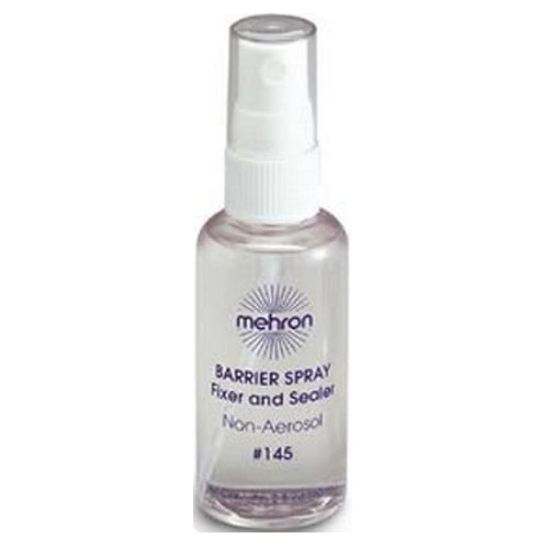 パラナ川ファシズム小康(6 Pack) mehron Barrier Spray Fixer and Sealer - Clear (並行輸入品)