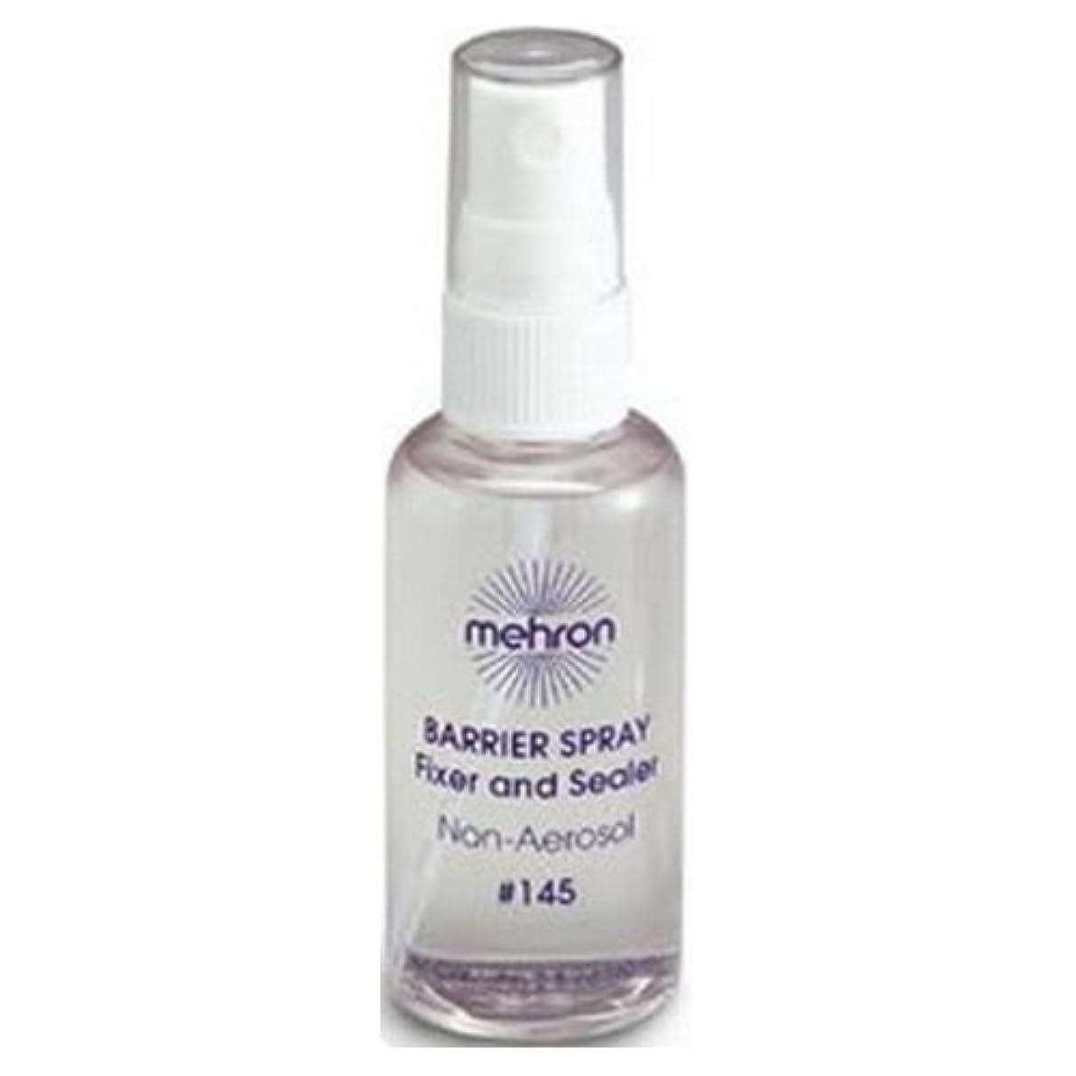 歌手誤解ありふれた(6 Pack) mehron Barrier Spray Fixer and Sealer - Clear (並行輸入品)