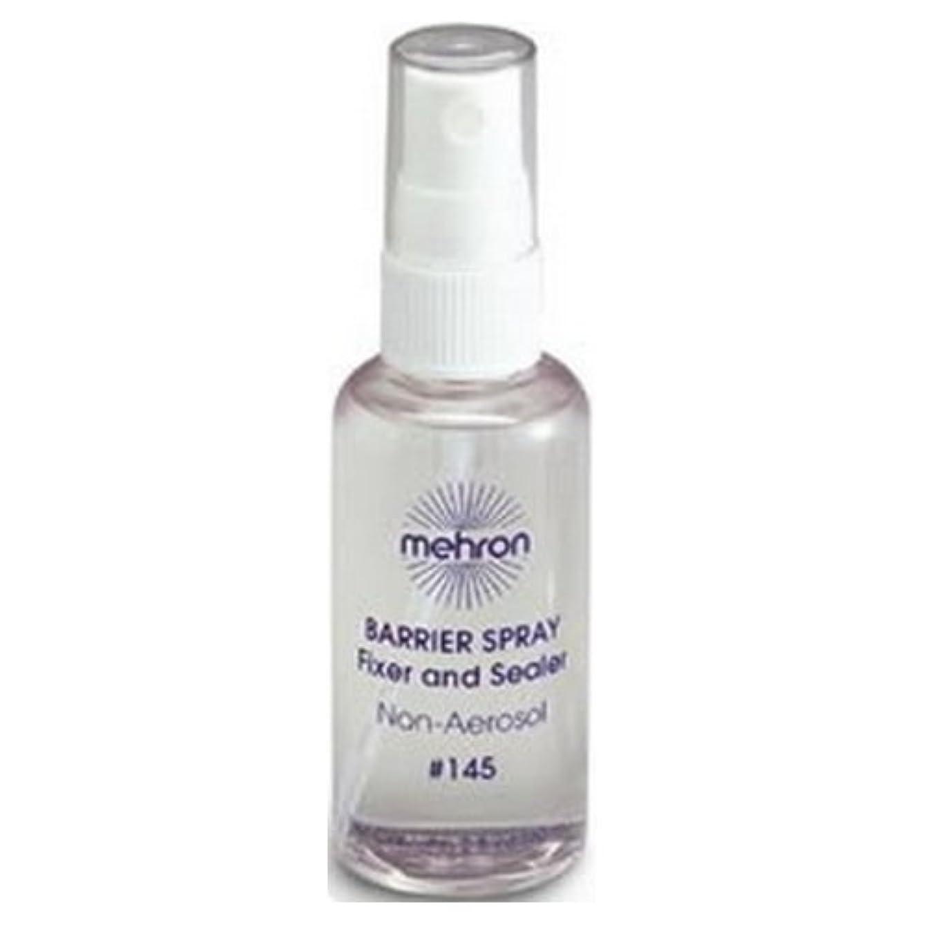 終わらせる崖受け入れる(6 Pack) mehron Barrier Spray Fixer and Sealer - Clear (並行輸入品)