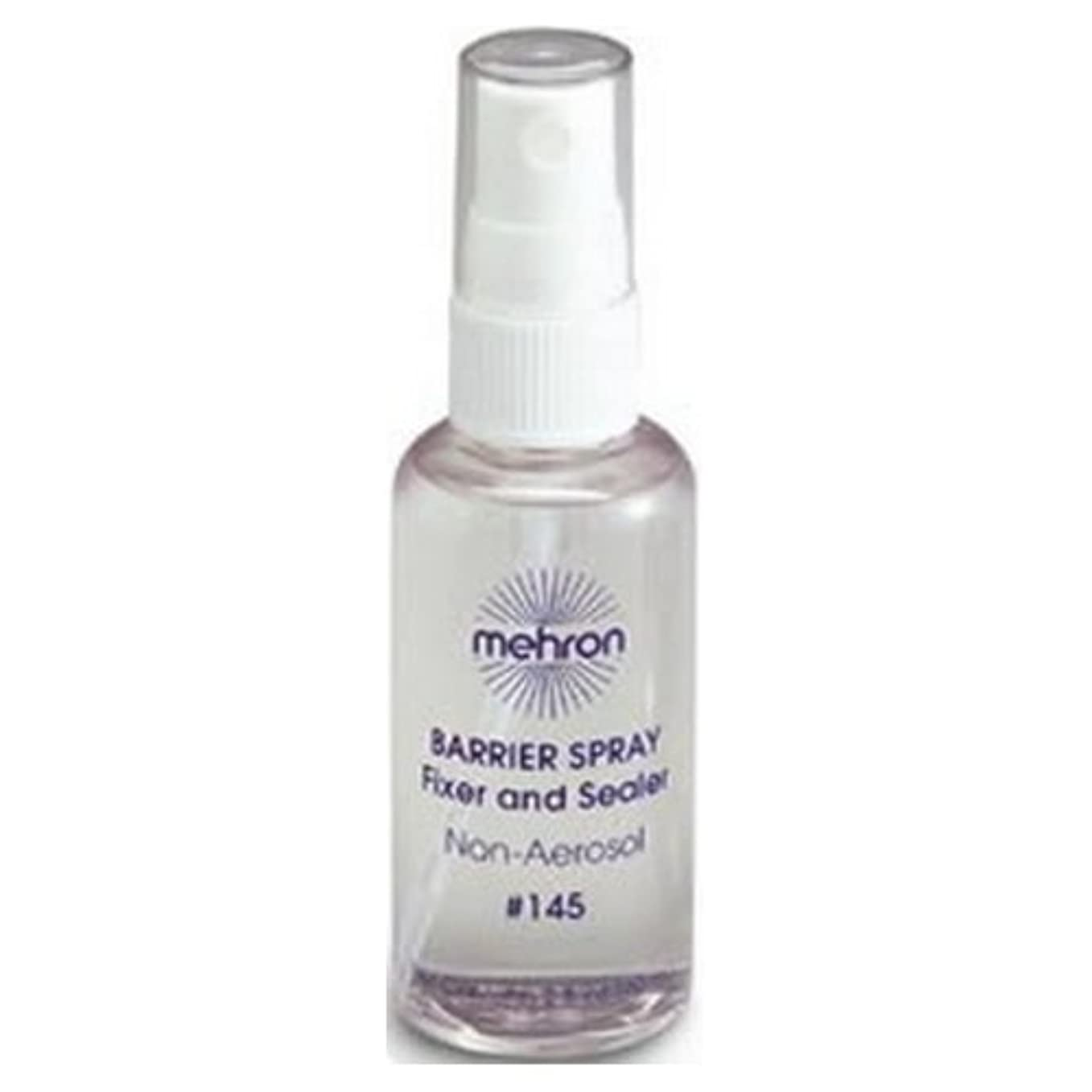 かなりビバ喪(6 Pack) mehron Barrier Spray Fixer and Sealer - Clear (並行輸入品)