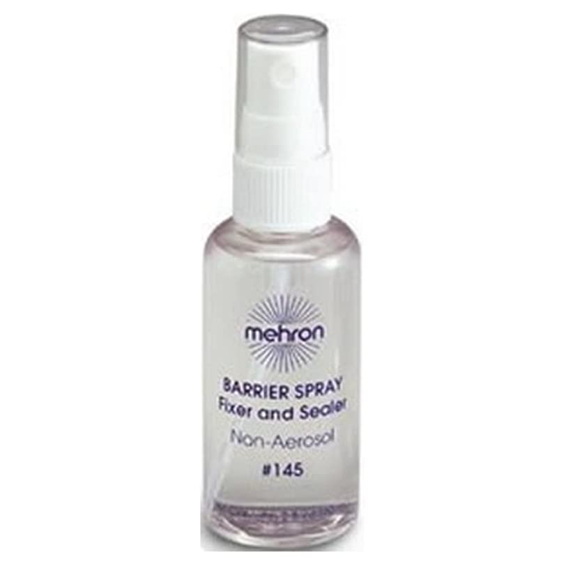 探偵ネックレス操作(6 Pack) mehron Barrier Spray Fixer and Sealer - Clear (並行輸入品)