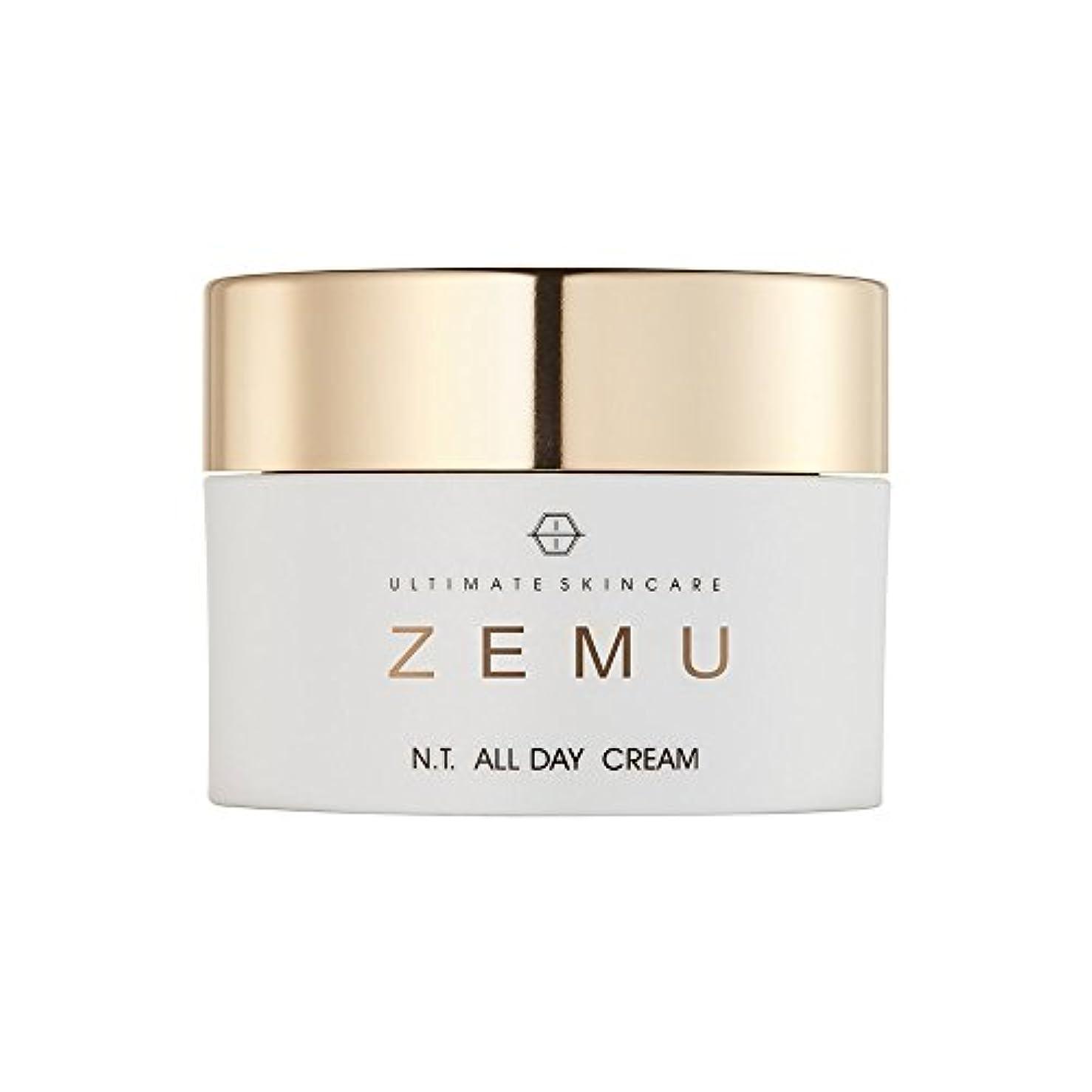 フォーマル掃くブロックUltimate skincare ZEMU エヌティ オールデイクリーム(N. T. ALL DAY CREAM)