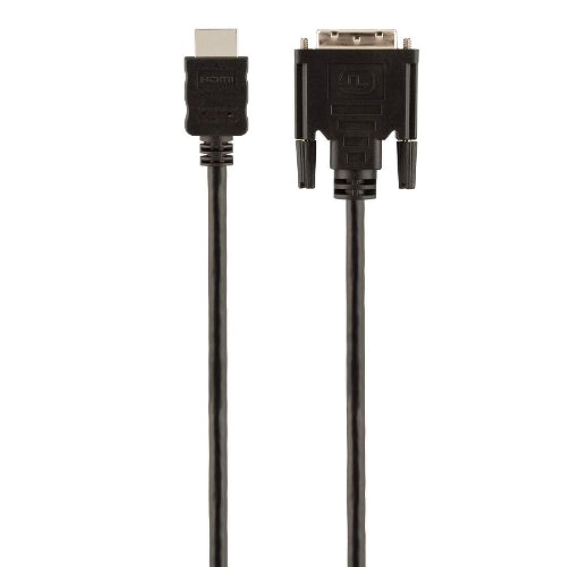持っているカメ短くするBelkin F2E8242b06 Câble DisplayPort vers DVI Mâle/Mâle 1,8 m Noir
