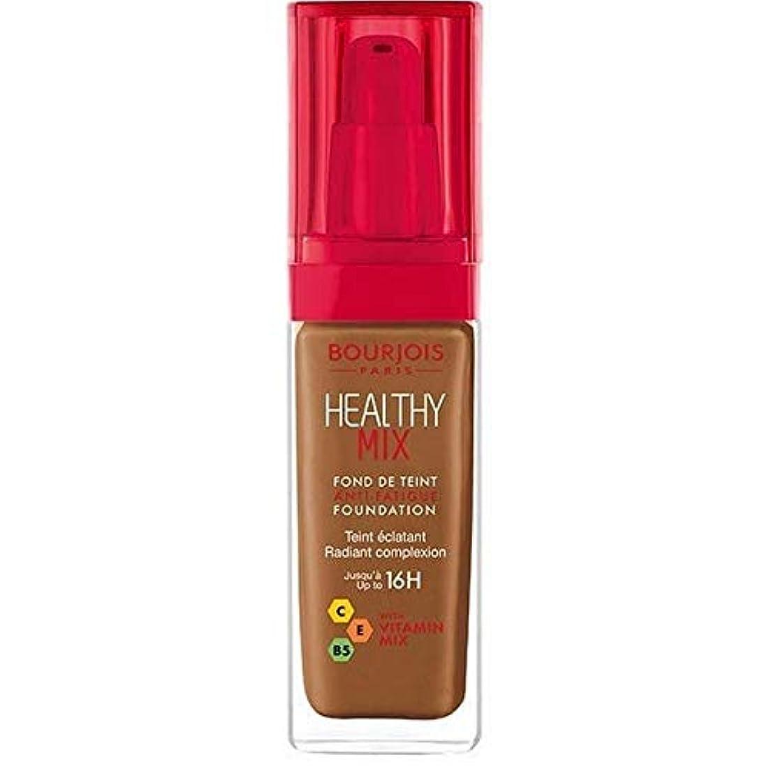 エゴイズムぴったり妨げる[Bourjois ] ブルジョワヘルシーミックス基盤63ココア - Bourjois Healthy Mix Foundation 63 Cocoa [並行輸入品]