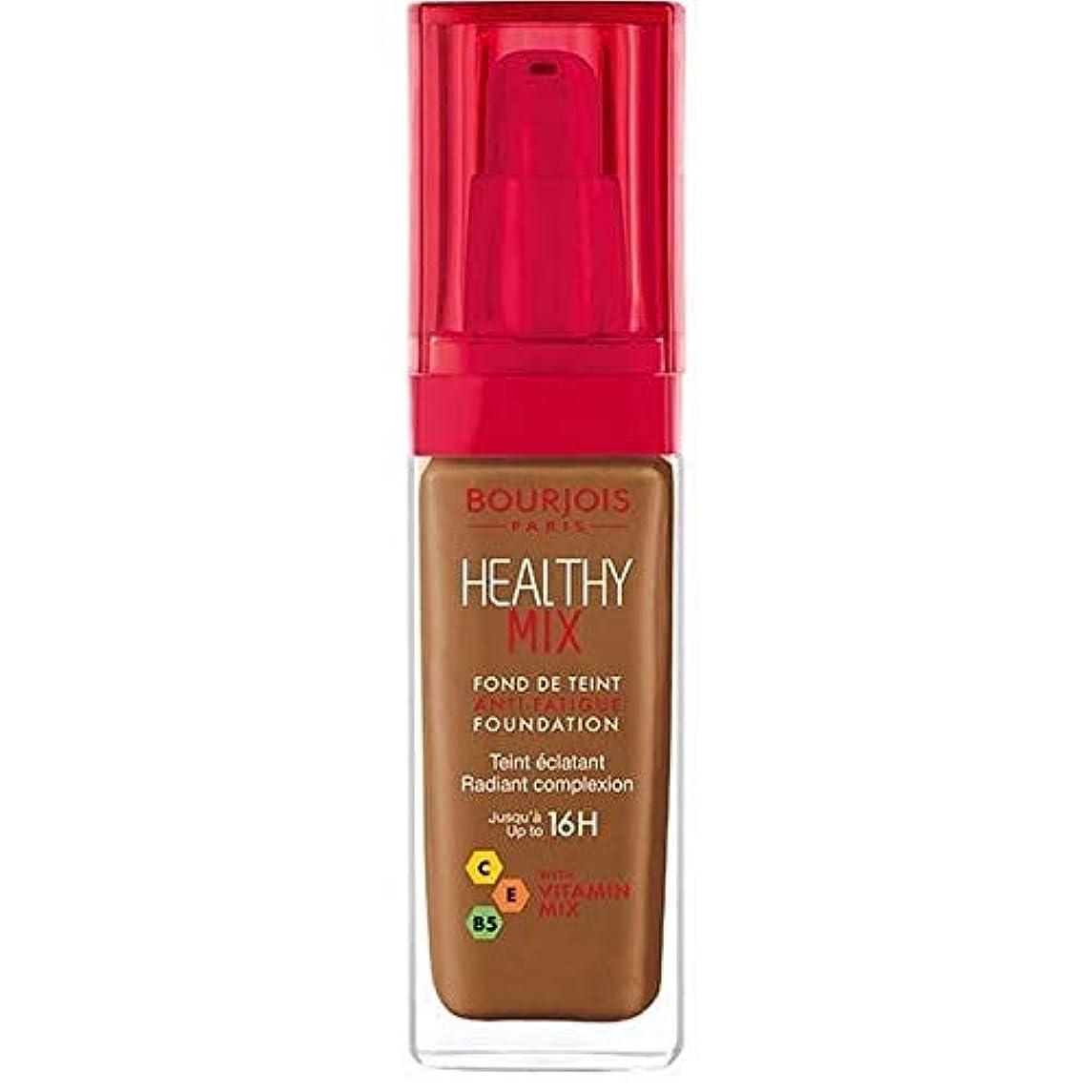 夏ぶどうほかに[Bourjois ] ブルジョワヘルシーミックス基盤63ココア - Bourjois Healthy Mix Foundation 63 Cocoa [並行輸入品]