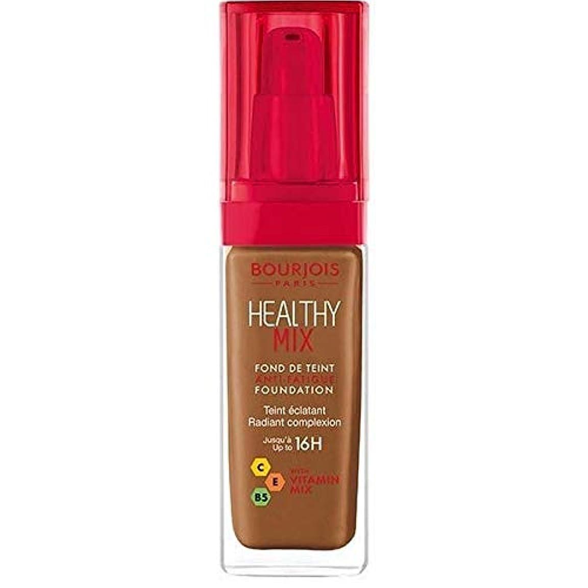 チャレンジスコットランド人ロケット[Bourjois ] ブルジョワヘルシーミックス基盤63ココア - Bourjois Healthy Mix Foundation 63 Cocoa [並行輸入品]