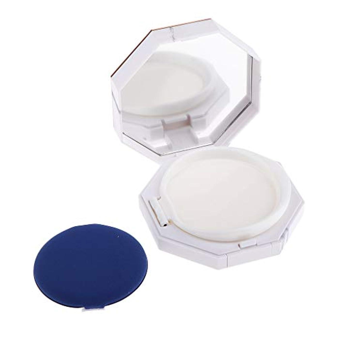 ポータルビタミン盲信CUTICATE 全2サイズ パウダーコンテナ メイクアップケース ミラー パフ付き - 高さ28 mm