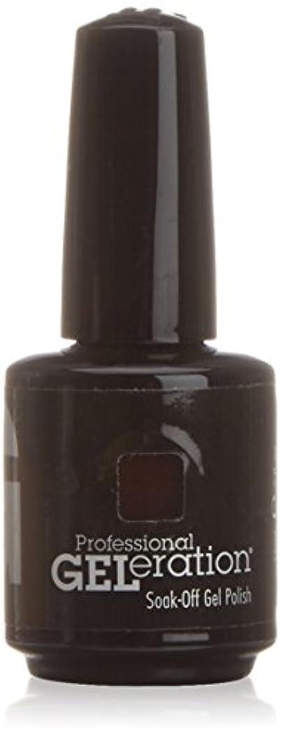 後方に姪電気陽性ジェレレーションカラー GELERATION COLOURS 234 C チェリーウッド 15ml UV/LED対応 ソークオフジェル