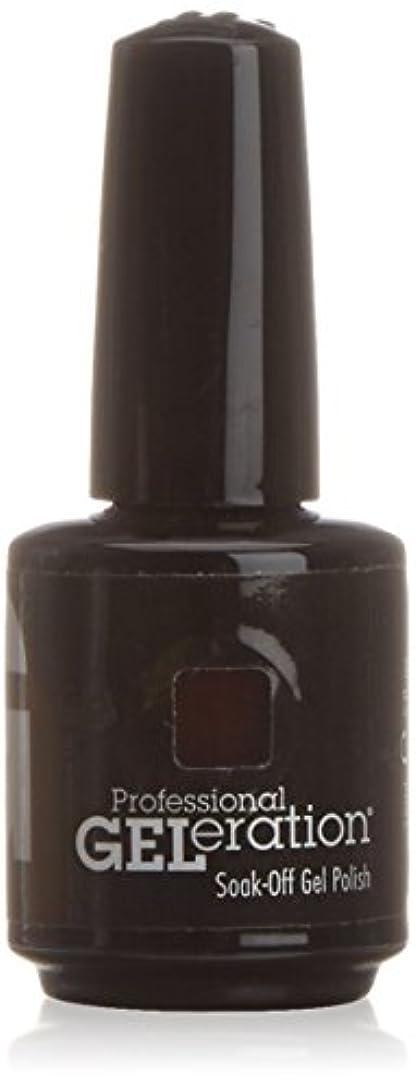 鮮やかなキャンディー整然としたジェレレーションカラー GELERATION COLOURS 234 C チェリーウッド 15ml UV/LED対応 ソークオフジェル