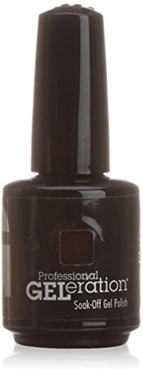 ジェレレーションカラー GELERATION COLOURS 234 C チェリーウッド 15ml UV/LED対応 ソークオフジェル