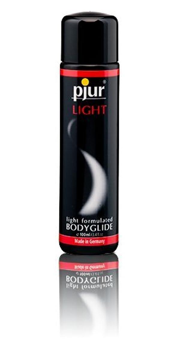 操縦するメナジェリー暗黙Pjur Light Bottle Lubricant - 100ml