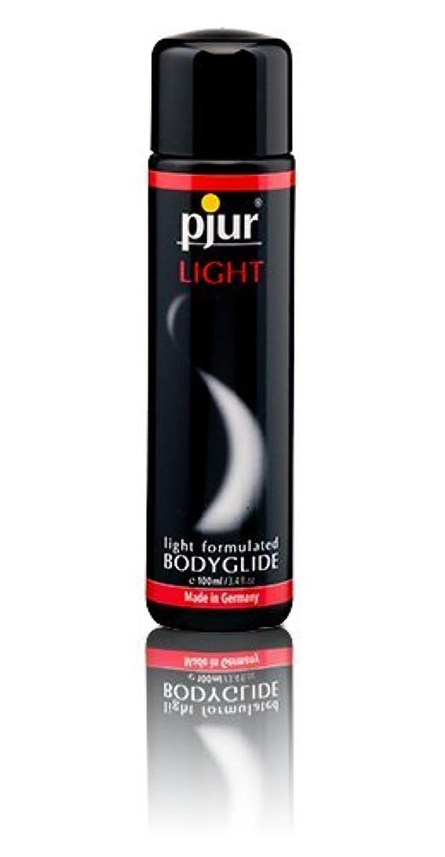 クローン首入学するPjur Light Bottle Lubricant - 100ml