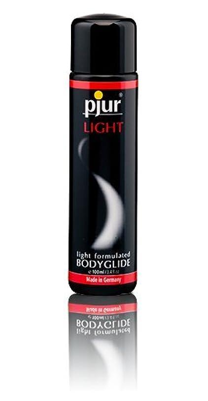 テレマコスオーディション有害なPjur Light Bottle Lubricant - 100ml
