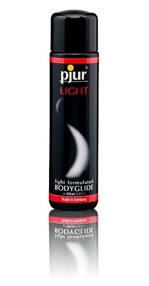 チャップ伝染病不機嫌そうなPjur Light Bottle Lubricant - 100ml