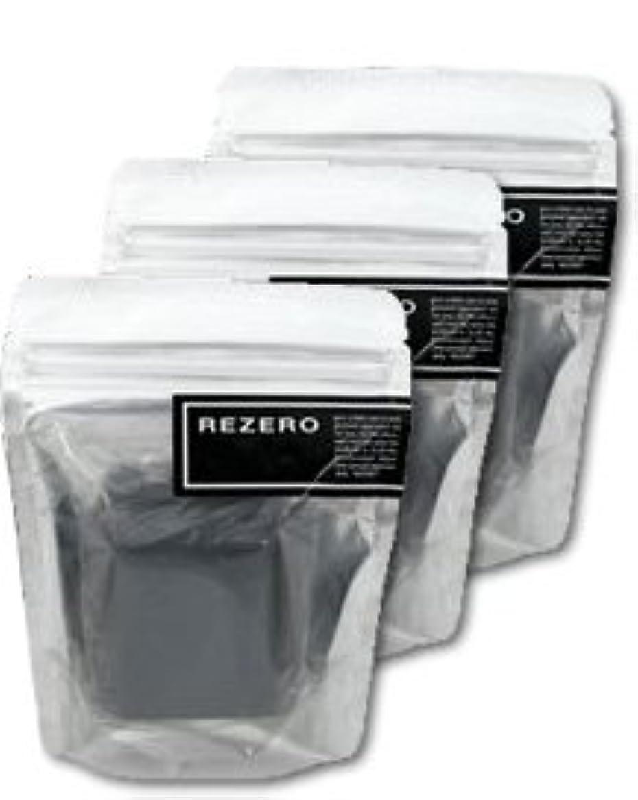 カラス化粧吹雪リゼロ プレミアム柿炭ソープ 90g×3個セット