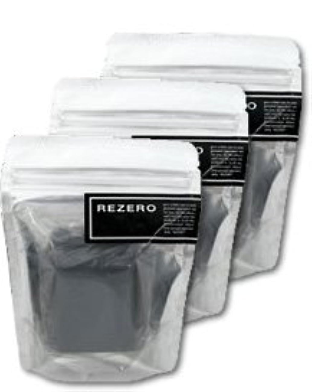 記念ネット生産性リゼロ プレミアム柿炭ソープ 90g×3個セット