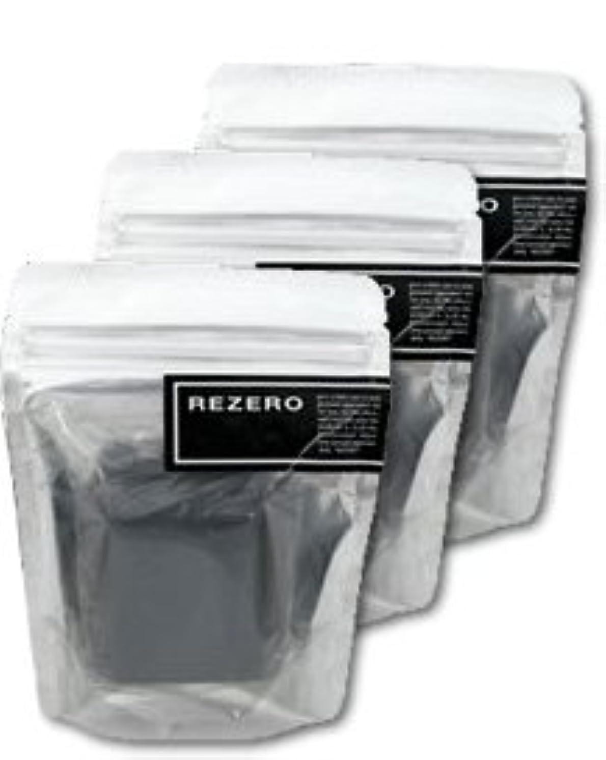 カプセル注文二層リゼロ プレミアム柿炭ソープ 90g×3個セット