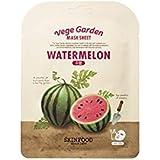 Skinfood ベジガーデンマスクシート#スイカ* 10ea / Vege Garden Mask Sheet # watermelon *10ea 20ml*10 [並行輸入品]
