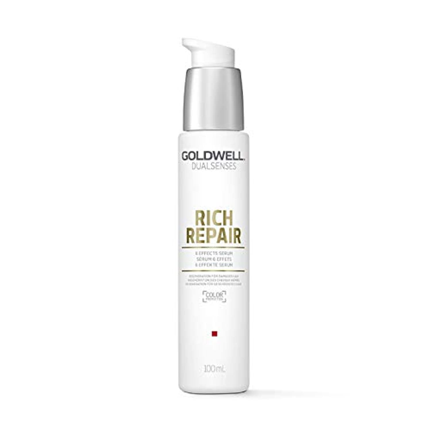累計簡潔なリブGoldwell Dualsenses Rich Repair 6 Effects Serum 100ml