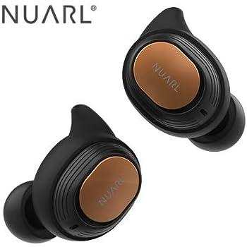 NUARL 完全ワイヤレス Bluetoothイヤホン(ブラック)ヌアール NT110 WATERPROOF TRUE WIRELESS STEREO EARPHONES NT110-BK