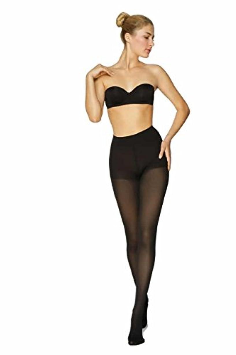 処理敬意を表する半球BeFit24 医療用着圧タイツ クラス 2 (23-32 mmHg) 男性・女性用 ーあらゆるラ イフスタイルのニーズに対応ー ヨーロッパ製 Large Black