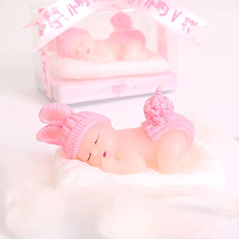 パトロン然とした公Aixiang 12パックキュートミニハンドメイドSmokeless Scented Candle Gift Boxedゲスト記念品ギフト、ベビーシャワーパーティーFavors用デコレーション 12 Pack