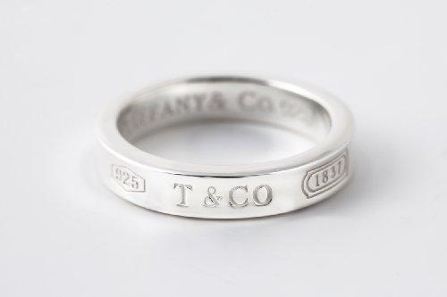 [ティファニー]Tiffany&Co. 1837ナローリング 6号-23号 刻印無料 メンテナンスセット付き(シルバー用ポリッシュクロス・シルバー用洗浄液)[並行輸入品]  (17)