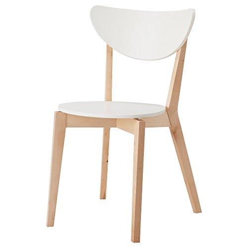 IKEA(イケア) NORDMYRA 50162212 チェア, ホワイト, バーチ