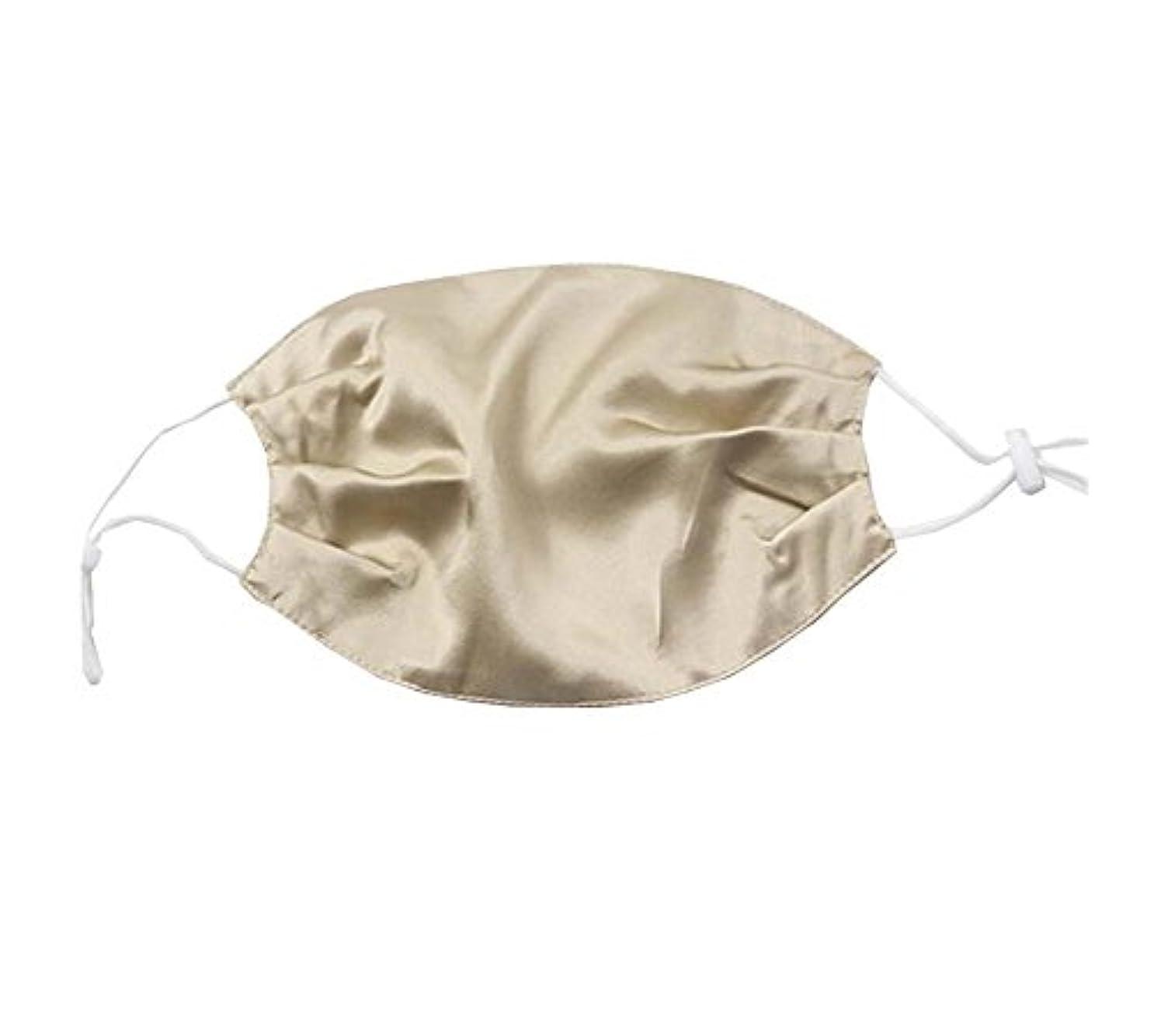 高価な風邪をひくうつ少女と女性のためのエレガントな通気性の柔らかいシルクの口のマスク