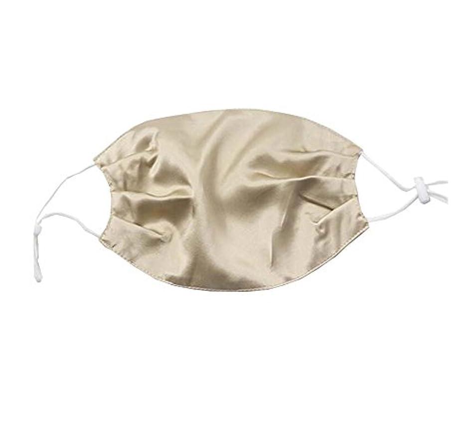 ソロ娘単なる少女と女性のためのエレガントな通気性の柔らかいシルクの口のマスク
