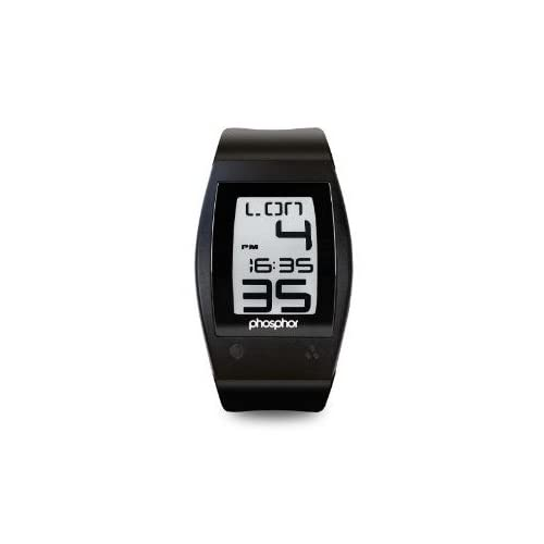 腕時計 Phosphor Men's WP001 World Time Digital Watch【並行輸入品】
