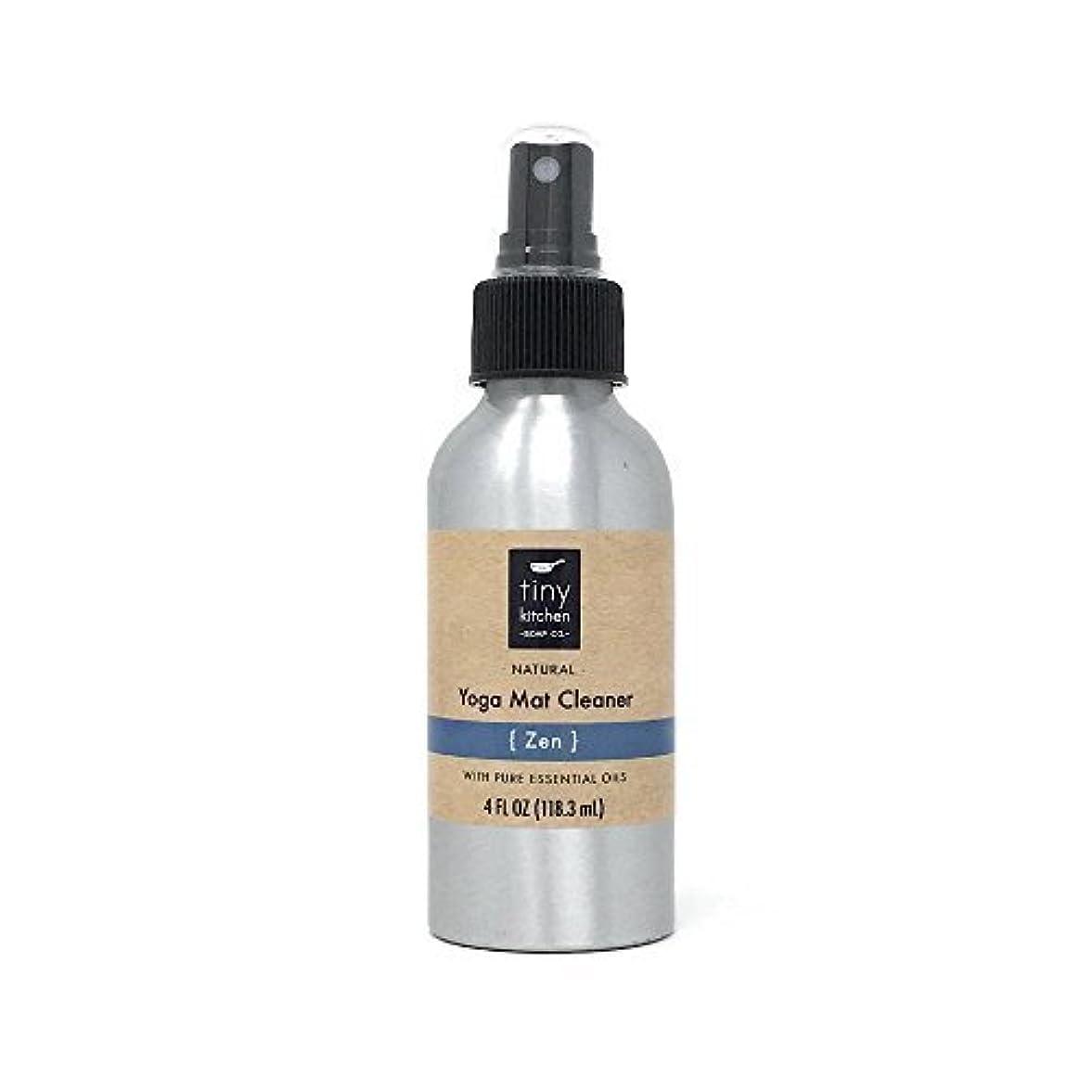 リーチ男性通知Natural Yoga Mat Cleaner - Zen - Handmade with Aromatherapy Essential Oil Blend (4 oz) [並行輸入品]