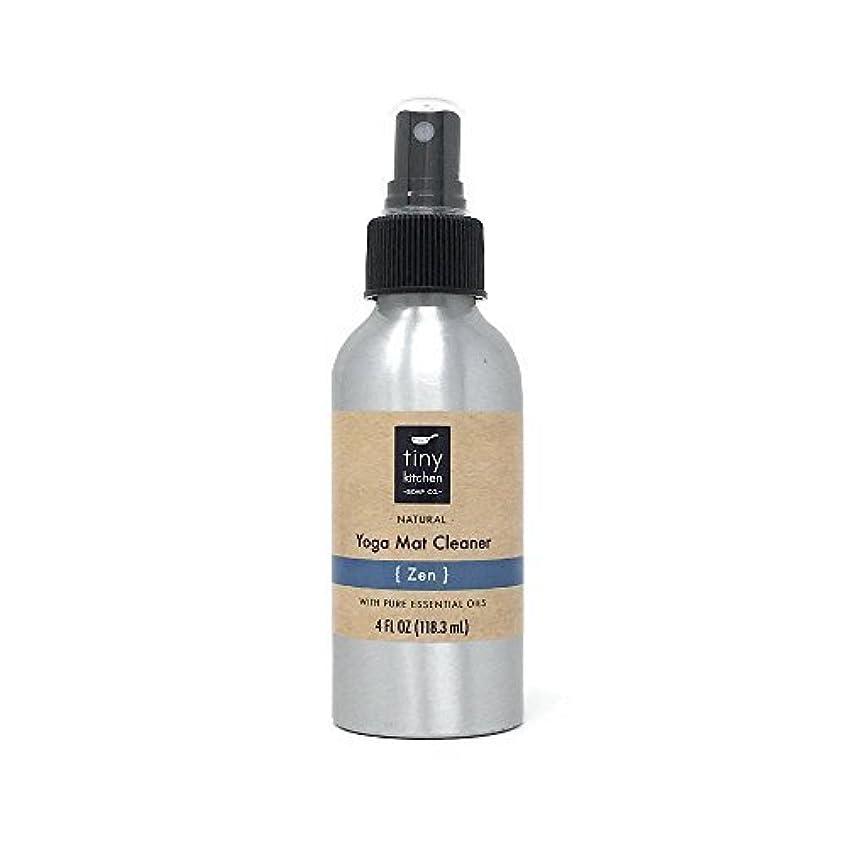 代名詞明日群集Natural Yoga Mat Cleaner - Zen - Handmade with Aromatherapy Essential Oil Blend (4 oz) [並行輸入品]