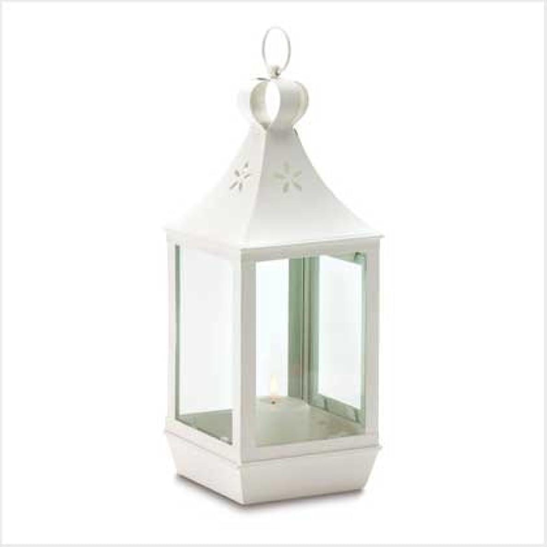 聴覚小道背の高いSWM 38467 Large Cutwork Garden Lantern