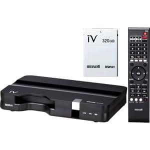 maxell ハードディスクIVDR用 レコーダー IVDR(320GB)同梱 VDR-R1000.PLUS
