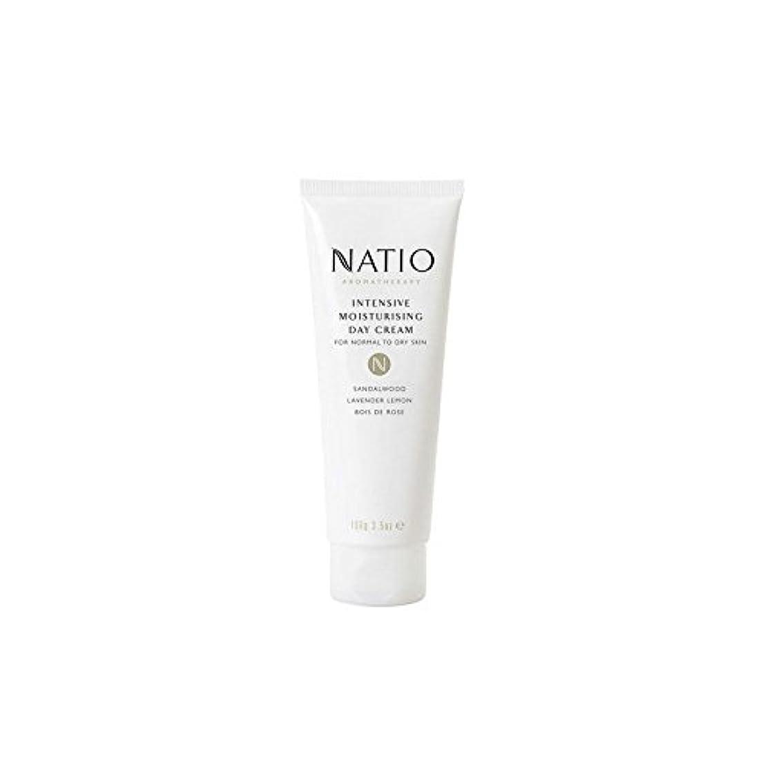 ソーダ水行方不明医薬集中的な保湿デイクリーム(100グラム) x4 - Natio Intensive Moisturising Day Cream (100G) (Pack of 4) [並行輸入品]