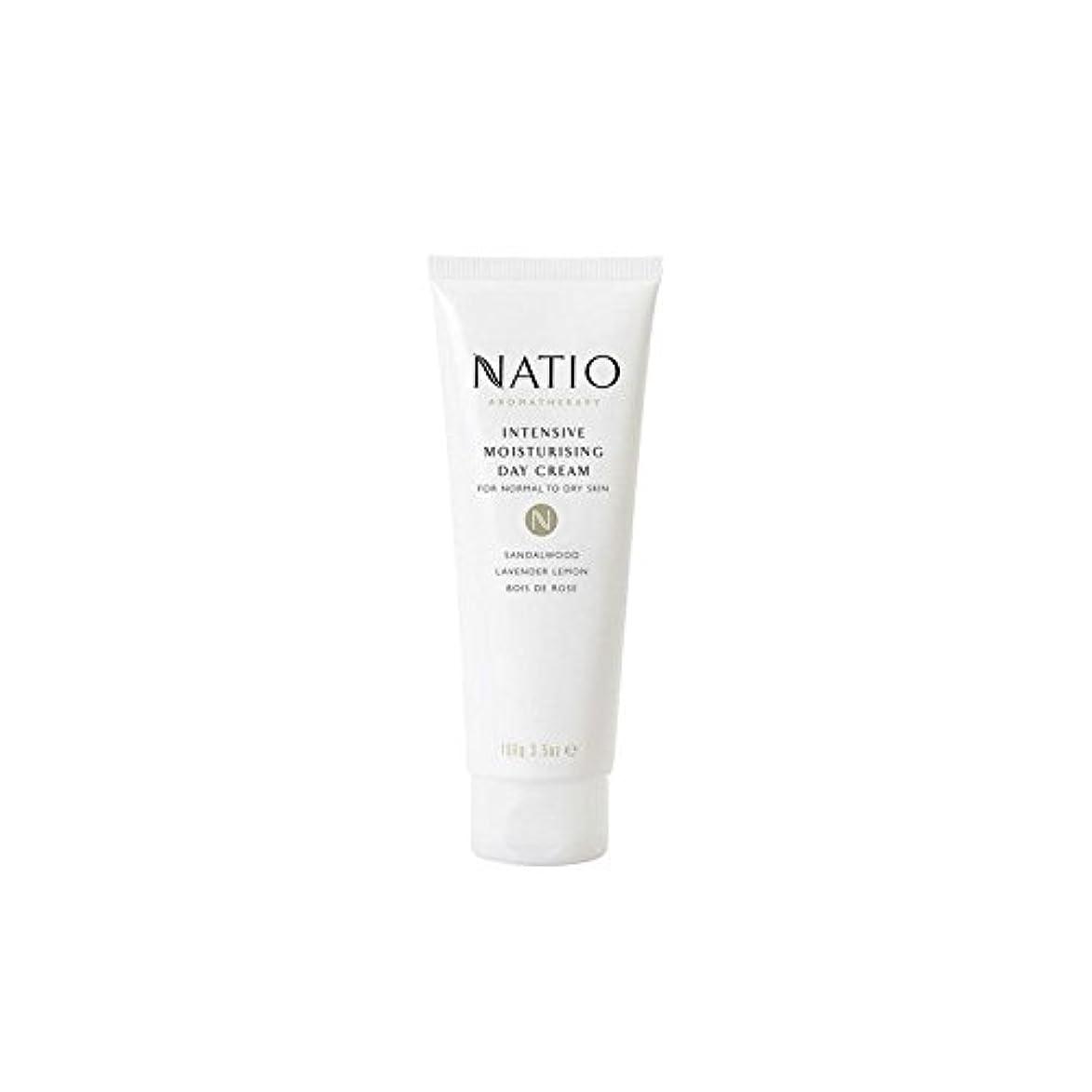 見る人グラス節約集中的な保湿デイクリーム(100グラム) x2 - Natio Intensive Moisturising Day Cream (100G) (Pack of 2) [並行輸入品]