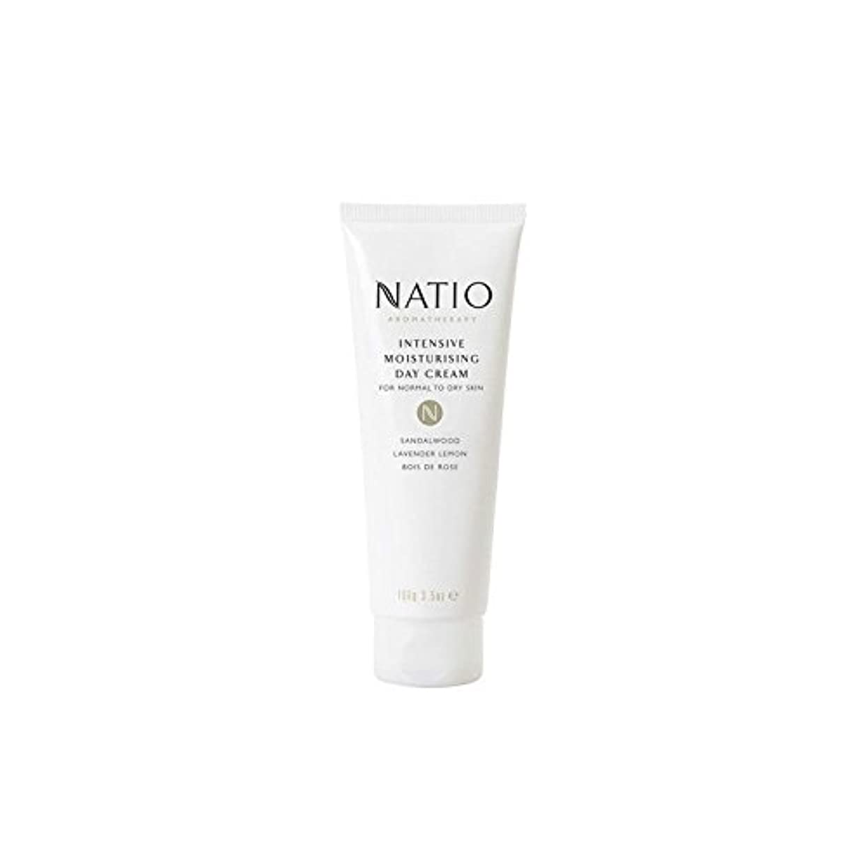 トラフィック操作可能利得Natio Intensive Moisturising Day Cream (100G) - 集中的な保湿デイクリーム(100グラム) [並行輸入品]