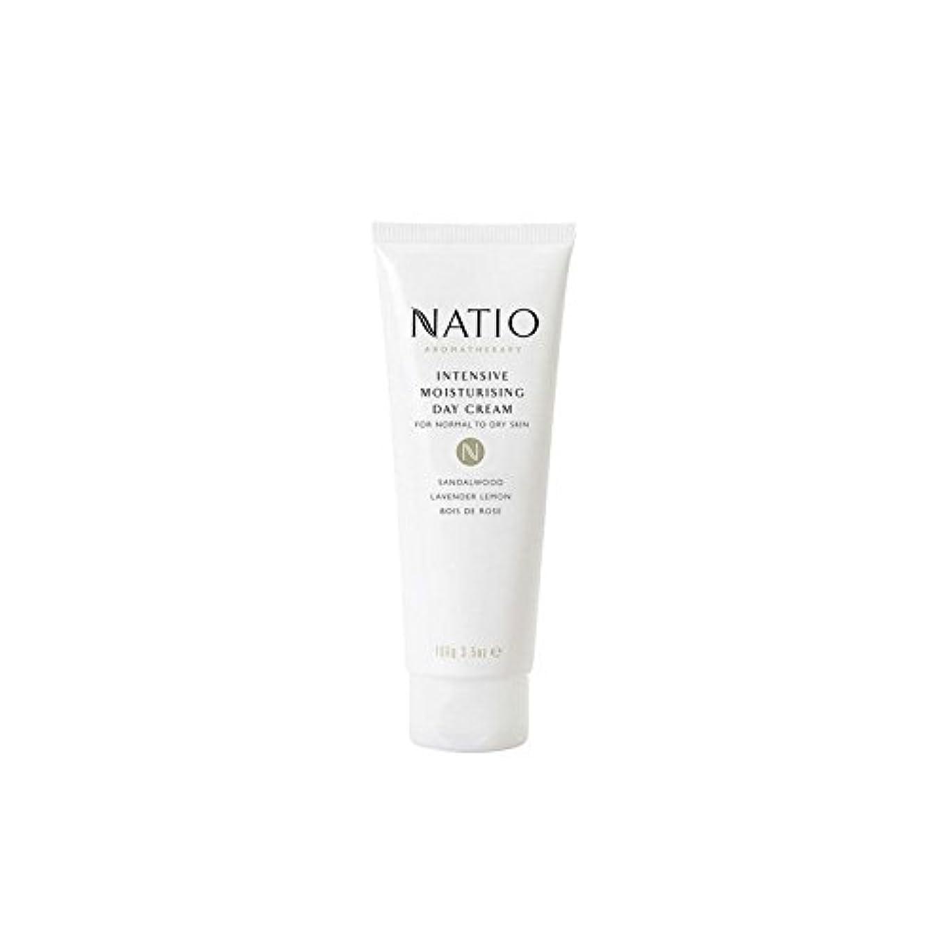 傷跡ライナー留め金Natio Intensive Moisturising Day Cream (100G) - 集中的な保湿デイクリーム(100グラム) [並行輸入品]