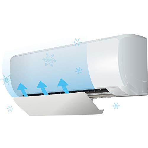 エアーウィング Smart Pro ホワイト AW17-04-01 風除け 風向き 風向 調整 オフィス クーラー 直撃風 空調 防止 風よけ板 エアコン風よけ カバー エアコンルーバー エアコン用カバー