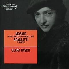 ハスキル独奏 モーツァルト:ピアノ協奏曲No.20&スカルラッティ:ソナタ集の商品写真
