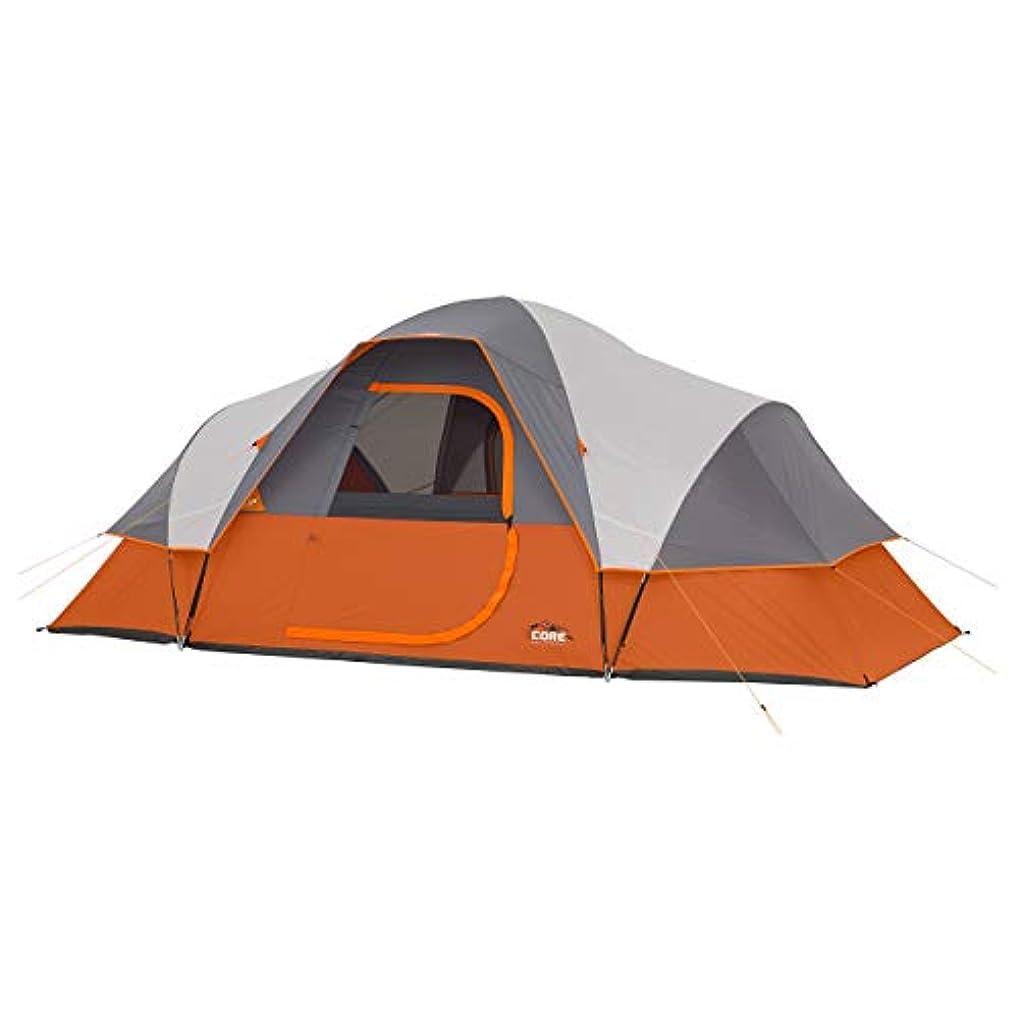 細菌申し立てる塩CORE 9 Person Extended Dome Tent - 16' x 9' [並行輸入品]