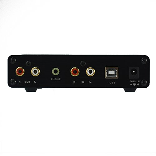 FX-Audio FX-98S ヘッドフォンアンプ USBデコーダーDAC PCM2704 MAX9722 (ブラック)
