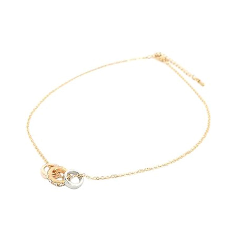 3連リングネックレス【necklace ルピス】