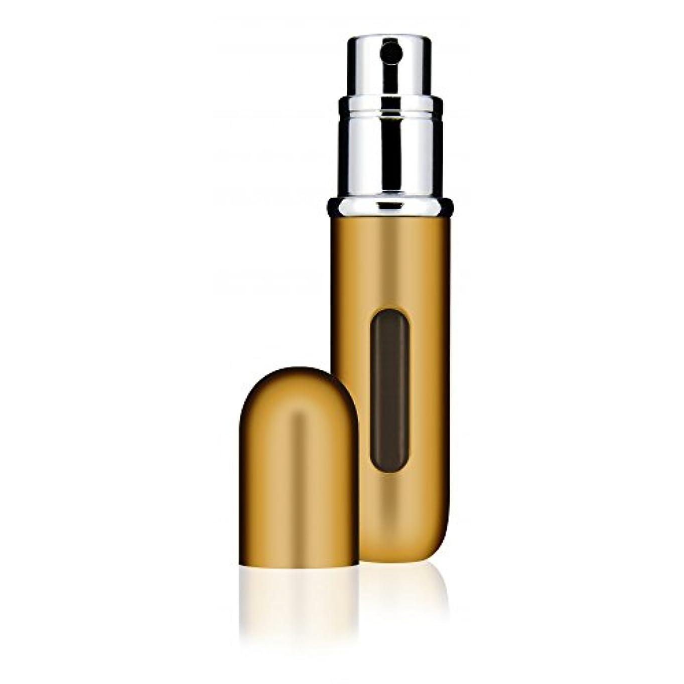 ちらつき教えて夜間Travalo Classic トラヴァーロ クラシック 香水 10秒チャージ 香水 スプレー 香水 アトマイザー 香水 ボトル 香水 携帯 (Gold)