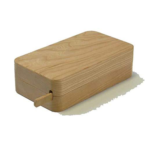 【高橋工芸】 Kakudo45°木のバターケースチェリー