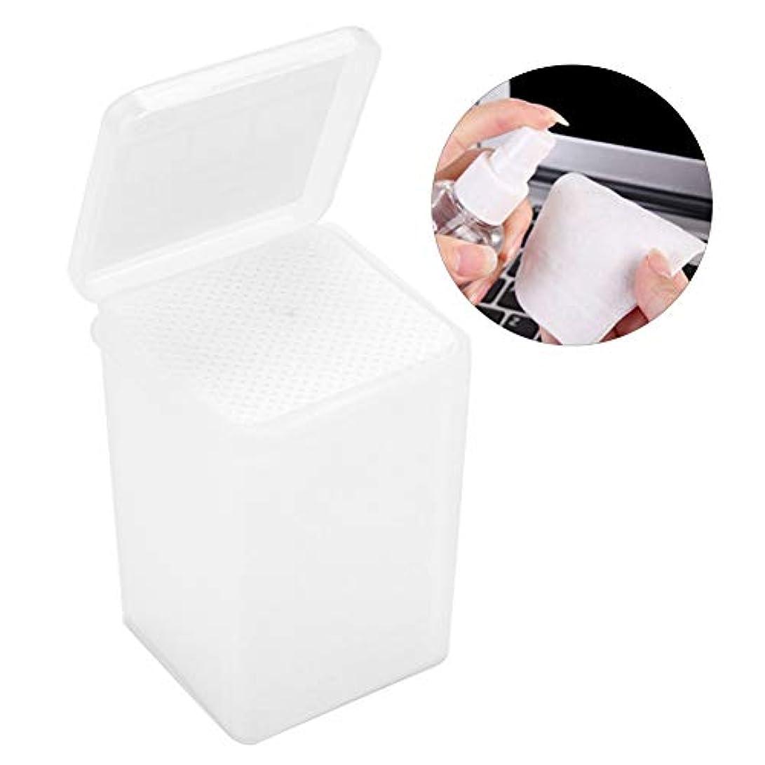 減らす息を切らして柔らかい足拡大 接着剤のワイプ 不織布の接着剤のびん クリーニングのワイプの取り外しのための180個のまつげ延長パッド