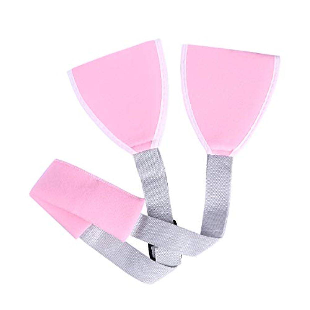 リーク図増強するROSENICE アームスリングアジャスタブルショルダエルボサポートブレスメディカルスリングアーム(ピンク)