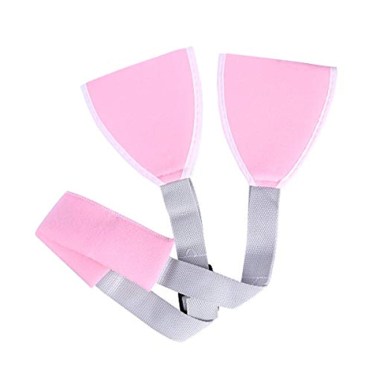 肝透過性噴出するROSENICE アームスリングアジャスタブルショルダエルボサポートブレスメディカルスリングアーム(ピンク)